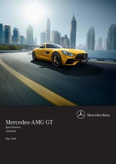 Mercedes-AMG GT Specifications Australia May 2018
