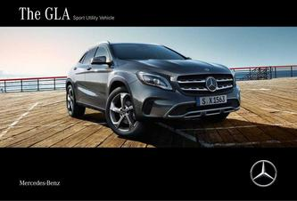 The GLA Sport Utility Vehicle 2018