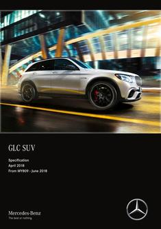 GLC SUV Specification April 2018 From MY809 - June 2018