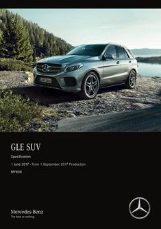 GLE SUV Specification 1 June 2017 - from 1 September 2017 Production MY808