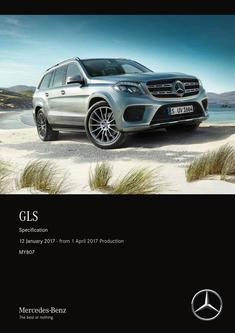 GLS Specification 12 January 2017 - from 1 April 2017 Production MY807