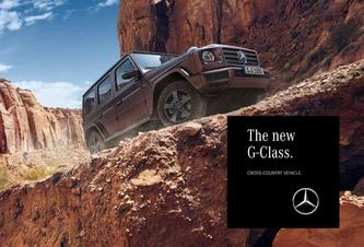 The new G-Class 2018