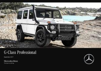G-Class Professional 2018