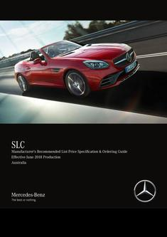 SLC Price Specification & Ordering Guide June 2018 Production Australia