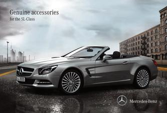 Genuine accessories for the SL-Class 2018