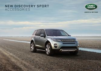 New Discovery Sport Accessories 2014