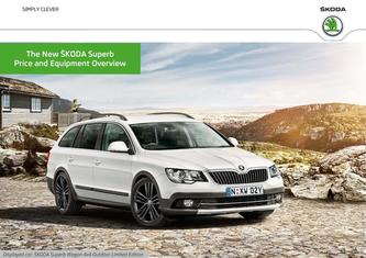Skoda Superb Prices & Equipment 2015