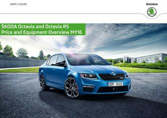 Skoda Octavia Prices & Equipment 2015