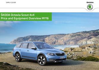 Skoda Octavia Scout 4x4 Prices & Equipment 2015