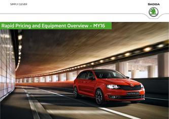 Skoda Rapid Prices & Equipment 2015