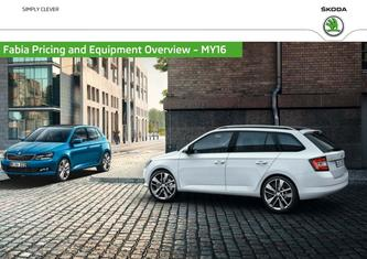 Skoda New Fabia Prices & Equipment 2015