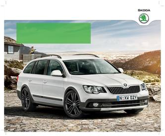 Skoda Superb 4x4 Outdoor 2015