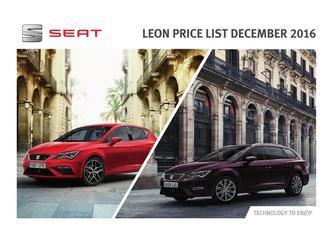 New Leon Price LIst 12.2016