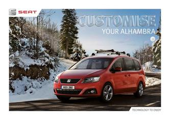 Seat Alhambra Accessories 03.2016