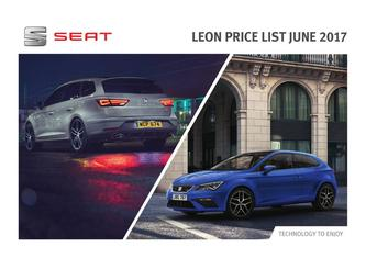 Seat Leon Pricce List June 2017
