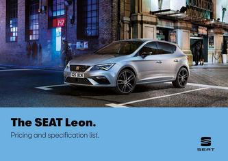 SEAT Leon. Pricing and specification list may 2019