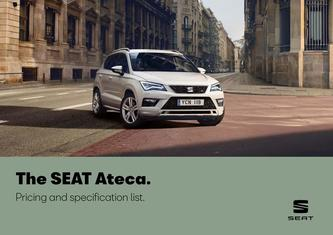 SEAT Ateca. Pricing and specification may 2019