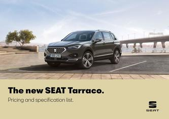 SEAT Tarraco. Pricing and specification may 2019