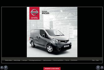 Nissan NV200 Van Accessories 2014