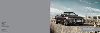 The Audi A5 and S5 Cabriolet 2014
