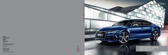 The new Audi RS 7 Sportback 2014