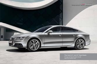 Audi A7 and S7 Sportback 2015