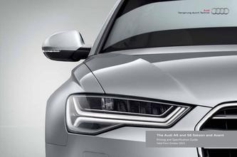 Audi A6 and S6 Saloon and Avant 2015