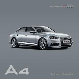 Audi A4 Saloon and Avant 2015
