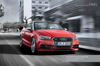 Audi A3 and S3 Cabriolet 2015