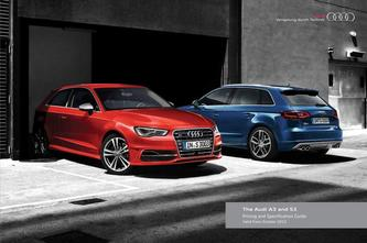 Audi A3 and S3 including Sportback 2015