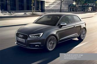 Audi A1 and S1 range including Sportback 2015