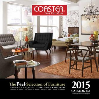 2015 Furniture By Coaster Fine Furniture