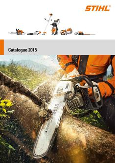 Chain saws and pole pruners 2015