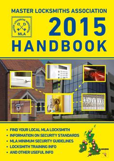 Master Locksmiths Association 2015 Handbook