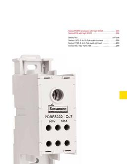 Power Distribution & Terminal Blocks 2015