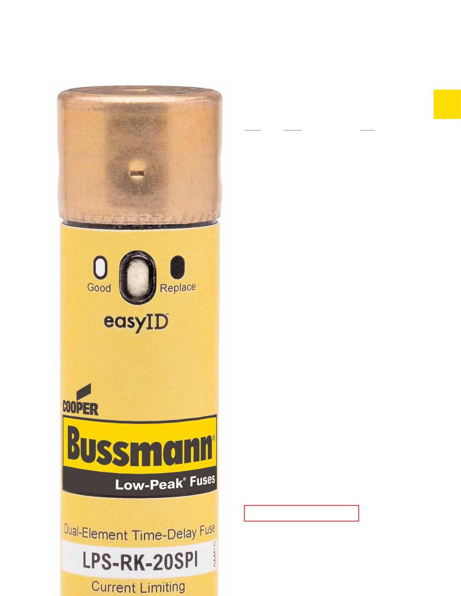 Low Voltage Branch Circuit Rated Fuses 2015 By Cooper Bussmann Rk5 Fuse Holder In Box