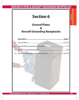 Ground Plates and Aircraft Grounding Recepticles 2015