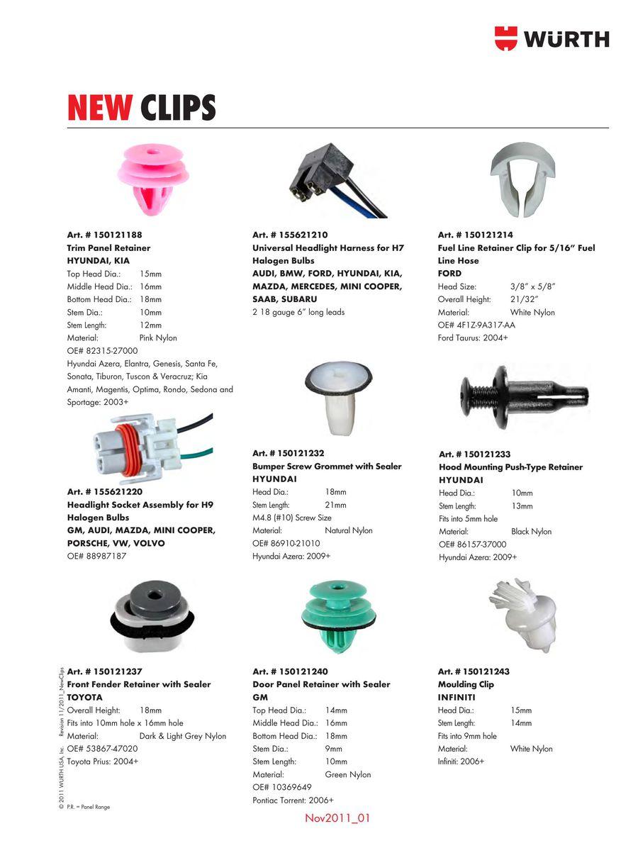 body clips 2014 002 body clips 2014 by wurth usa