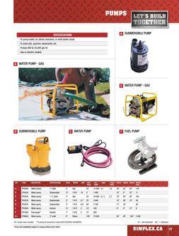 Pump Equipment Rentals 2015