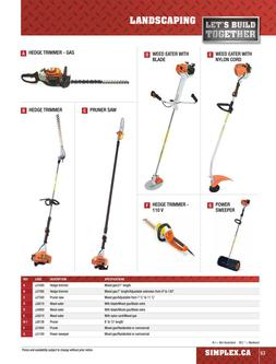 Landscaping Equipment Rentals 2015