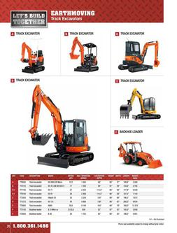 Excavation Equipment Rental 2015