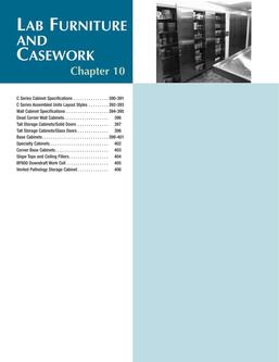 Lab Furniture and Casework 2015