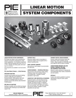 Linear Motion System Components 2015