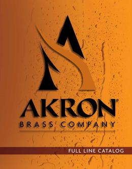 2014 Akron Brass Catalog