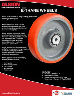 E-Thane Soft Poly Wheels