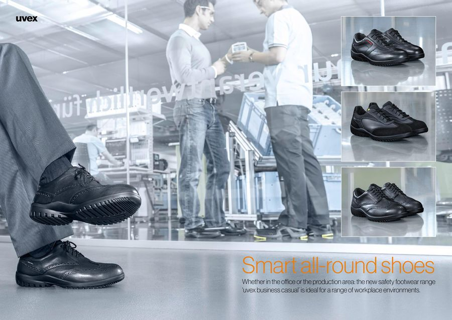 uvex business casual safety footwear