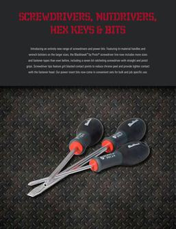 Blackhawk Screwdrivers, Nut Drivers, Hex Keys & Bits 2015