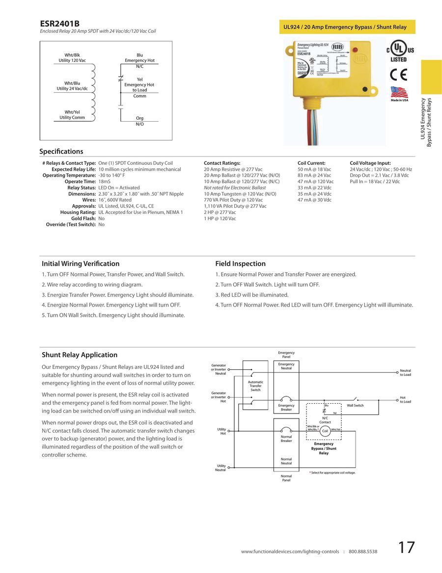 Page 20 Of 2013 Lighting Controls Illuminated Wall Switch Wiring Diagram P 87
