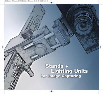 Stands and Lighting Units for Image Capturing 2015