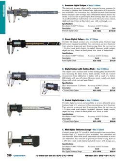 Catalog Section 4: Measuring to Saws 2015